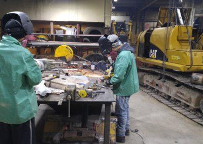 Grinding & Fabricating bench