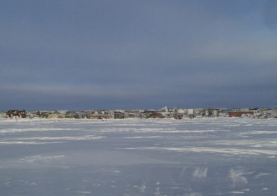 Cambridge Bay from across the water