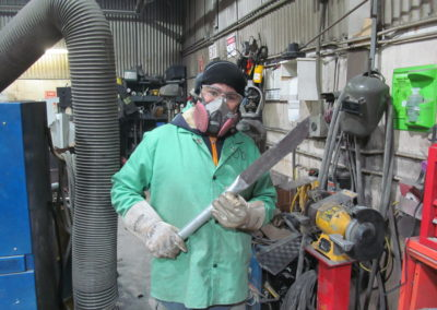 Croc Dundee style - Bob Says, 'now this is a snow knife' - impressive