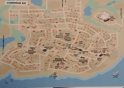 Look at new fixture on Cambridge Bay map...