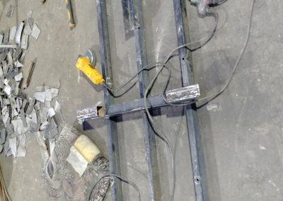 Quad trailer repair job