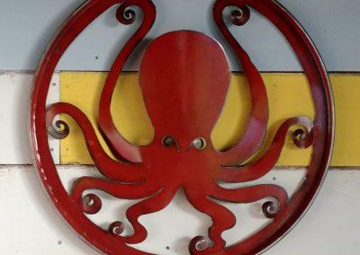 Drum Lid Octopus