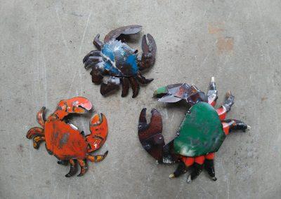 A cast of crabs